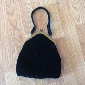 Handbags - Antique velvet opera bag